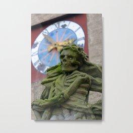 The Death | Der Tod Metal Print