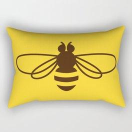 Be safe - save bees Rectangular Pillow