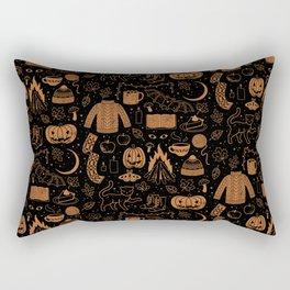 Autumn Nights: Halloween Rectangular Pillow