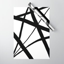 A Harmony of Lines and Shapes Wrapping Paper