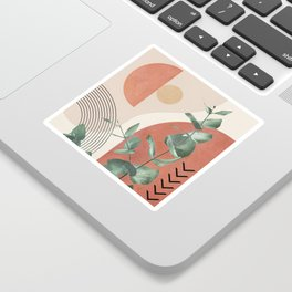 Nature Geometry IV Sticker