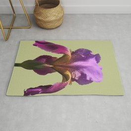 one perfect blossom blooms forever Rug
