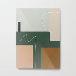 geometric abstract 73 Metal Print