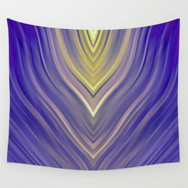 stripes wave pattern 3 ls Wall Tapestry