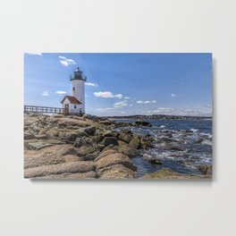 Annisquam Lighthouse afternoon Metal Print