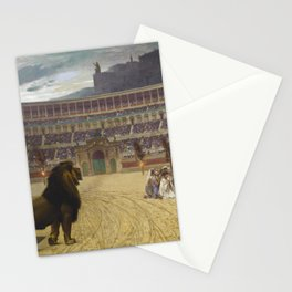 Jean-Leon Gerome - The Christian Martyrs' Last Prayer Stationery Cards