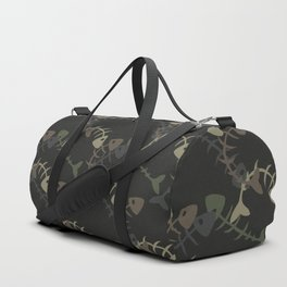 fish pattern Duffle Bag