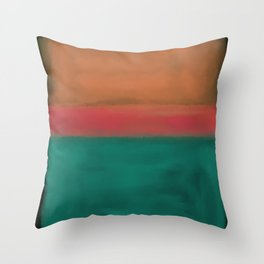 Rothko Inspired #4 Throw Pillow