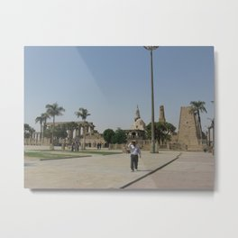 Temple of Luxor, no. 9 Metal Print