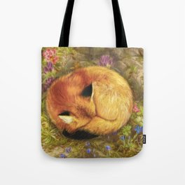 The Cozy Fox Tote Bag
