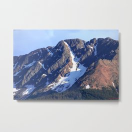 Twilight Peaks in the San Juan Moutain Range Metal Print