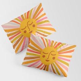 Sunshine – Retro Ochre Palette Pillow Sham