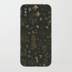 Old World Florals iPhone X Slim Case