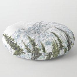 Grand Teton National Park Adventure III - Wanderlust Mountains Floor Pillow