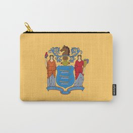 New Jersey Flag Carry-All Pouch