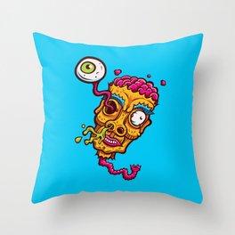Zomb-Eye Throw Pillow