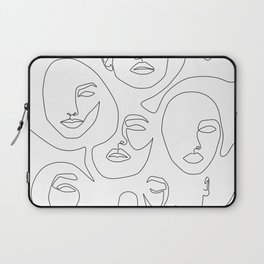 Her and Her Laptop Sleeve