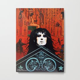 Laurie Cabot Egyptian Mystic Metal Print