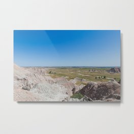 Badlands for the Afternoon - Travel Photography Metal Print