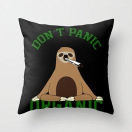 Sloth Smoking Weed Sloth Sloth Baby Sloth Throw Pillow