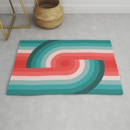 Retro Wheels  Rug