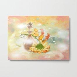 Duft der Blume - farbig Metal Print