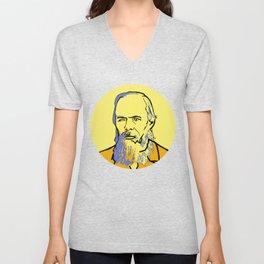 Fyodor Dostoyevsky Unisex V-Neck