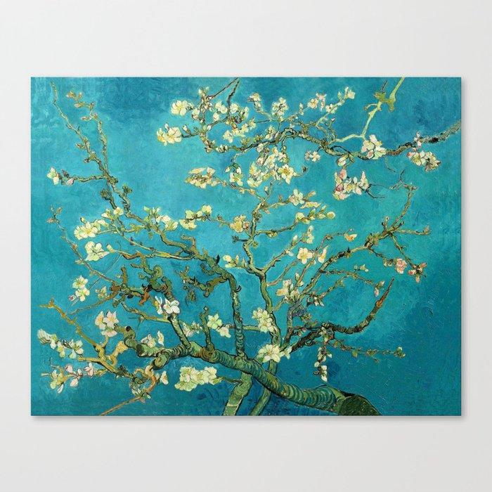 Vincent Van Gogh Blossoming Almond Tree Leinwanddruck