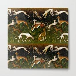 Sighthounds Metal Print