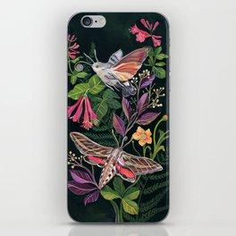 Hummingbird Moth iPhone Skin