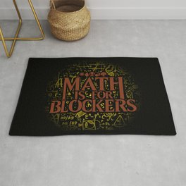 Math is for Blockers Rug