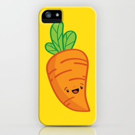 Carrot Guy iPhone Case
