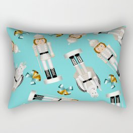 The Nutcracker Christmas Special - Toy King and Mouse King pattern Rectangular Pillow