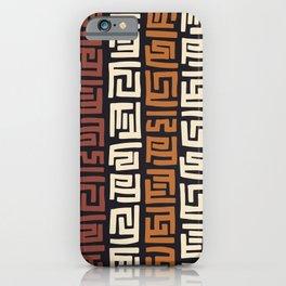African Kuba Cloth iPhone Case