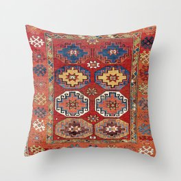Konya Yatak Central Anatolian Bed Cover Print Throw Pillow