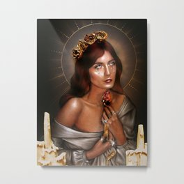 Florence(FATM) - The Rose Metal Print