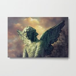 The Angel of Pere Lachaise Metal Print