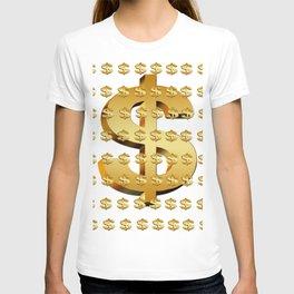dollar money gold finance T-shirt