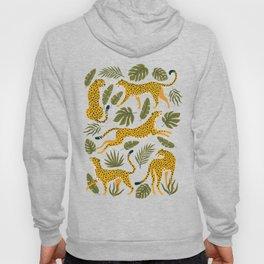 Leopard pattern Hoody