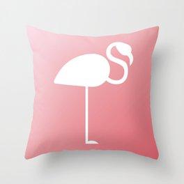 The Flamingo Throw Pillow