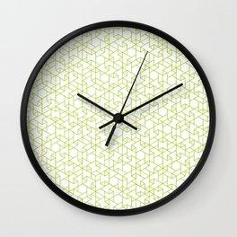 Jali Fusion - Green Wall Clock