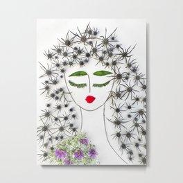 Iva, the dreamy, sensual dancer Metal Print