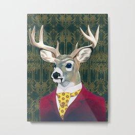 Deer Mr. Eastman Metal Print