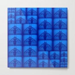 Blue Collar Workers Metal Print