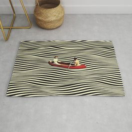 Illusionary Boat Ride Rug