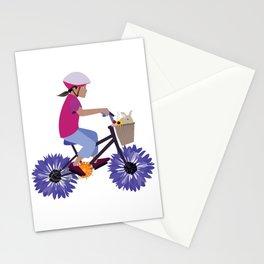 Summer Bike Ride Stationery Cards