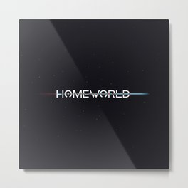 Homeworld Title Screen Metal Print