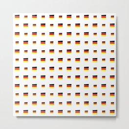 Flag of Germany 5 handmade Metal Print