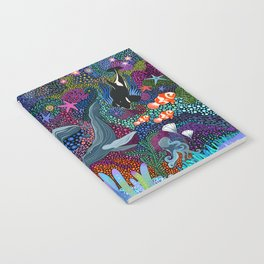 Whale Ocean Life Notebook