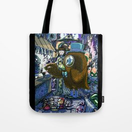 Midnight grocery shopping Tote Bag